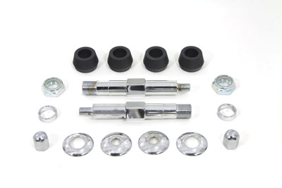 V-Twin 54-0445 - Chrome Upper Rear Shock Stud Kit