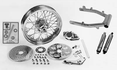 V-Twin 55-0602 - Swingarm and Brake Assembly Kit