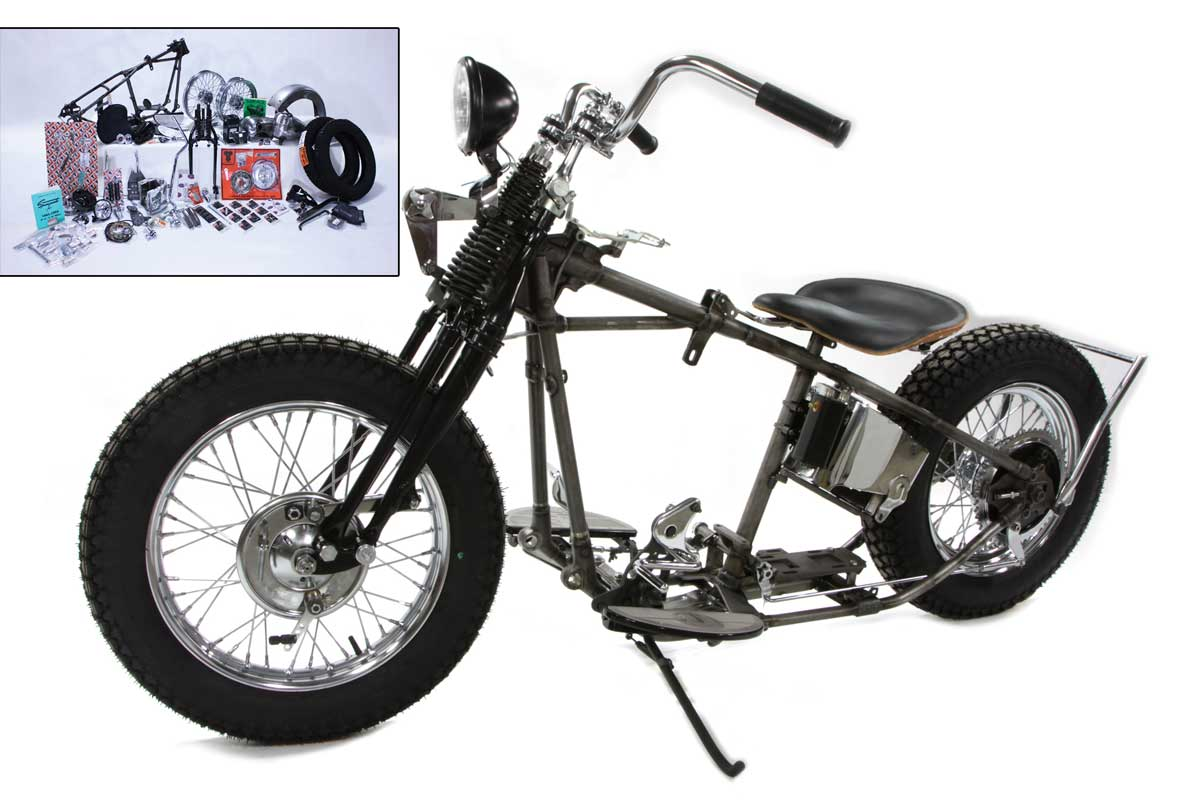 V-Twin 55-1945 - Knucklehead Bobber Chassis Kit