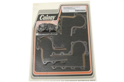 V-Twin 7517-8 - Zinc Rocker Arm Cover Strip and Gasket
