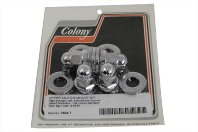 V-Twin 7604-7 - Top Motor Mount Acorn Bolts and Washers