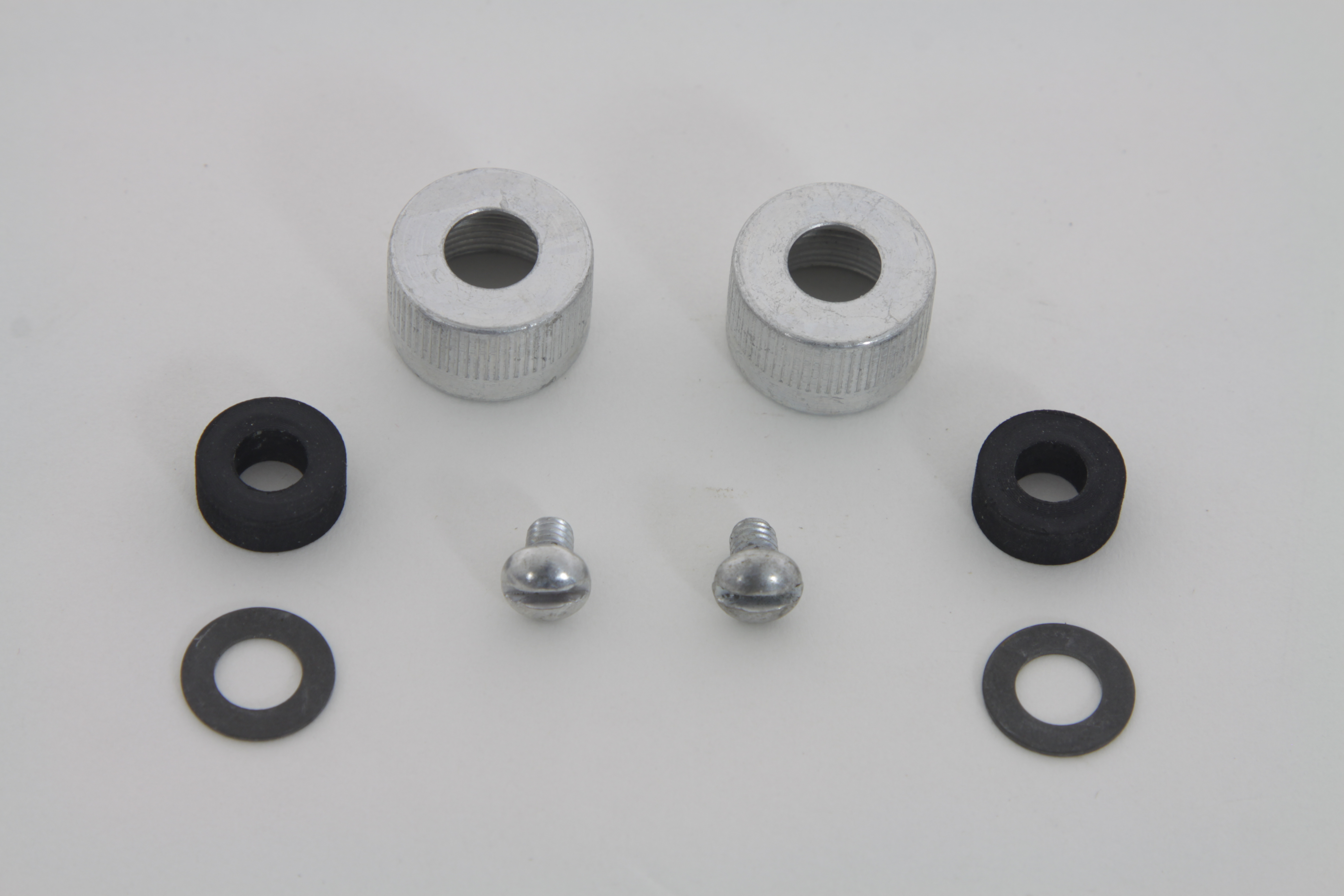 V-Twin 7804-6 - Spark Plug Cable Nuts with Packing