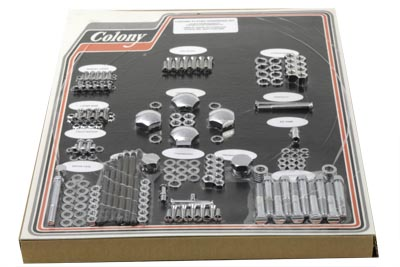 V-Twin 8301 CHR - Chrome Stock Style Hardware Kit