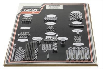 V-Twin 8302 CHR - Chrome Stock Style Hardware Kit