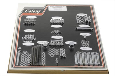 V-Twin 8303 CHR - Chrome Stock Style Hardware Kit