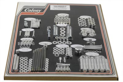 V-Twin 8311 CAD - Stock Style Hardware Kit HD Cadmium