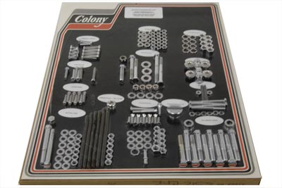 V-Twin 8312 CHR - Chrome Stock Style Hardware Kit
