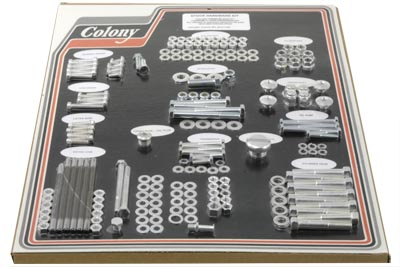 V-Twin 8313 CAD - Stock Style Hardware Kit Standard Cadmium