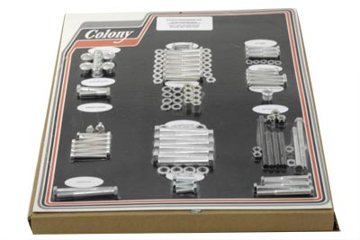 V-Twin 8317 CAD - Stock Style Hardware Kit Cadmium