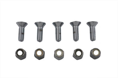 V-Twin 8831-10 - Bolt Screws Chrome Allen