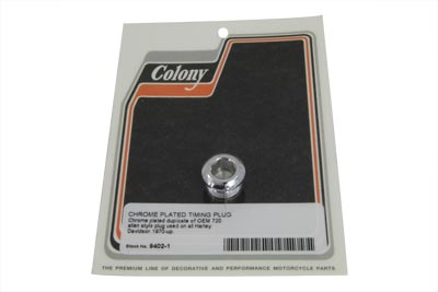 V-Twin 9402-1 - Chrome Allen Timing Plug
