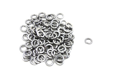"V-Twin 9518-6 - Chrome Lock Washer 3/8"" Inner Diameter"