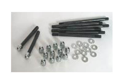 V-Twin 9883-20 - Chrome Engine Case Flanged Bolt Kit