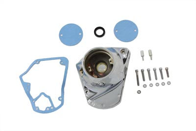 V-Twin 10-0110 - Chrome Nose Cone Cam Cover