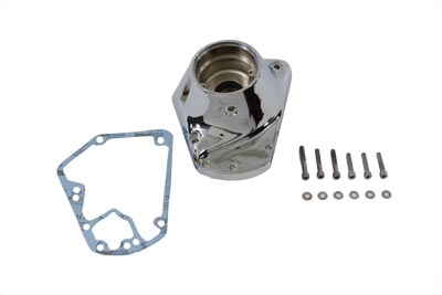 V-Twin 10-0111 - Chrome Nose Cone Cam Cover