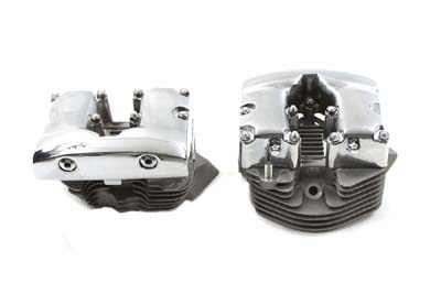 V-Twin 10-1063 - Cylinder Head Set with Rocker Box