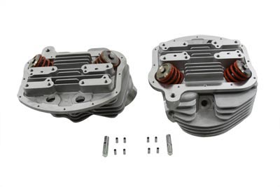 V-Twin 10-1175 - Panhead Cylinder Heads with Valves