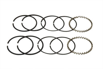 "V-Twin 11-0195 - 3-1/2"" Evolution Piston Ring Set .040 Oversize"