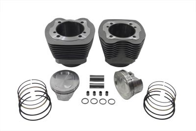 "V-Twin 11-1259 - 107"" Big Bore Twin Cam Cylinder Kit"