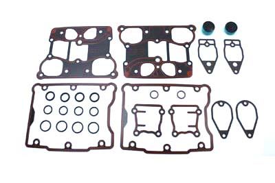 V-Twin 15-1329 - V-Twin Rocker Box Gasket Kit O-Ring Type
