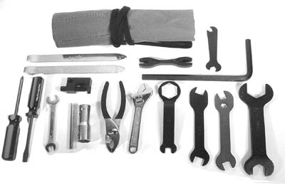 V-Twin 16-0843 - Rider Early Tool Kit for