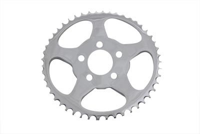 V-Twin 19-0673 - Rear Sprocket Chrome 51 Tooth