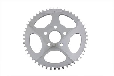 V-Twin 19-0675 - Rear Sprocket Flat Chrome 51 Tooth