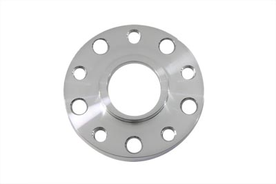 "V-Twin 20-0130 - Polished 1/2"" Pulley Spacer"