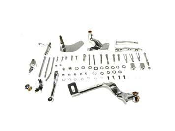 V-Twin 22-0383 - Chrome Forward Control Kit