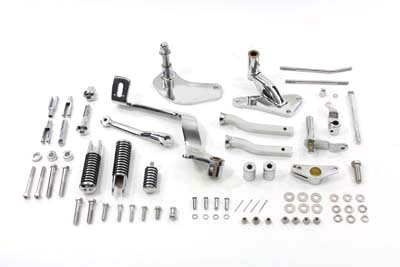 V-Twin 22-0396 - Chrome Forward Control Kit