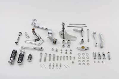 V-Twin 22-1048 - Chrome Forward Control Kit