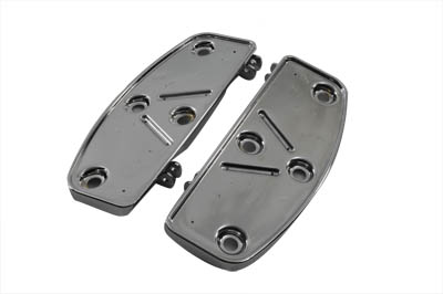 V-Twin 27-0798 - Driver Forward Mount Footboard Pans