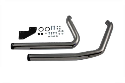V-Twin 30-0391 - Exhaust Header Set Staggered Style