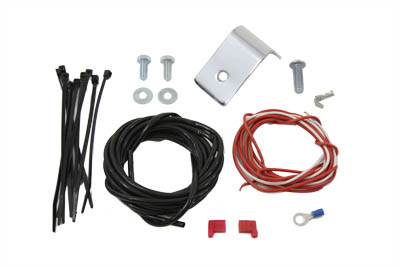 V-Twin 31-0542 - Horn Bracket Kit With Wires