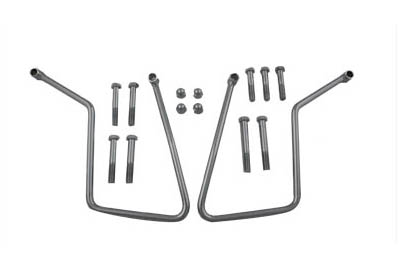 V-Twin 31-9910 - Chrome Saddlebag Support Set