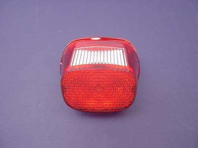 V-Twin 33-0238 - Tail Lamp Lens Laydown Style Red