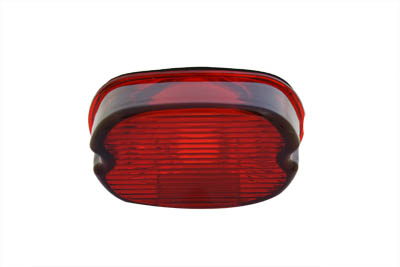 V-Twin 33-0239 - Tail Lamp Lens Laydown Style Red