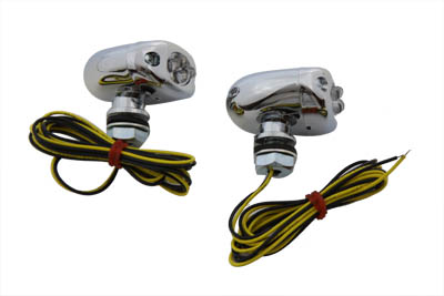 V-Twin 33-0271 - LED Amber Marker Lamp Set Center Mount