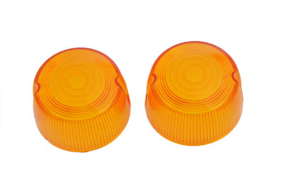 V-Twin 33-0501 - Turn Signal Lens Set Stock Style Amber