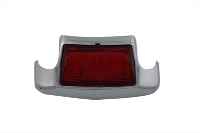 V-Twin 33-0656 - Red LED Rear Fender Lamp Tip with Light