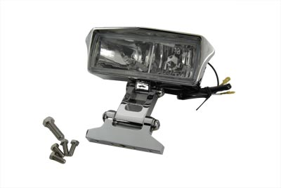"V-Twin 33-0982 - 7"" Rectangular Headlamp Assembly Glow Style wit"