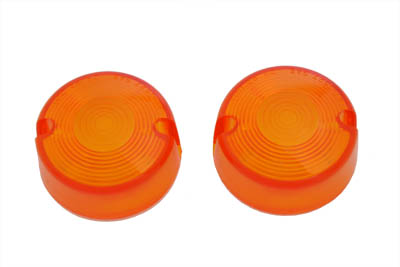 V-Twin 33-1220 - Amber Turn Signal Lens Set