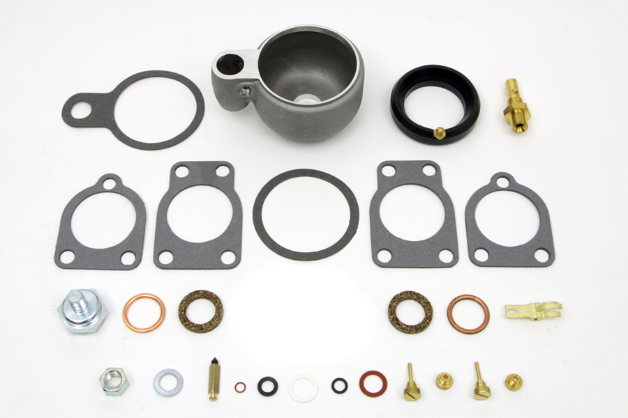 V-Twin 35-1460 - Linkert Carburetor Float Bowl Assembly