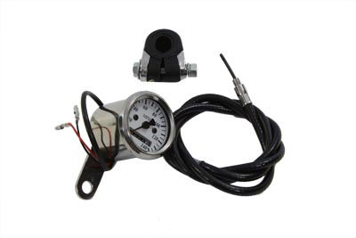 V-Twin 39-0436 - Mini 48mm Speedometer with 2240:60 Ratio