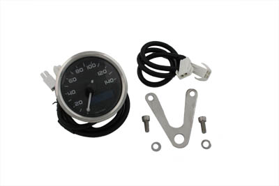 V-Twin 39-0540 - Mini 60mm Electronic Speedometer