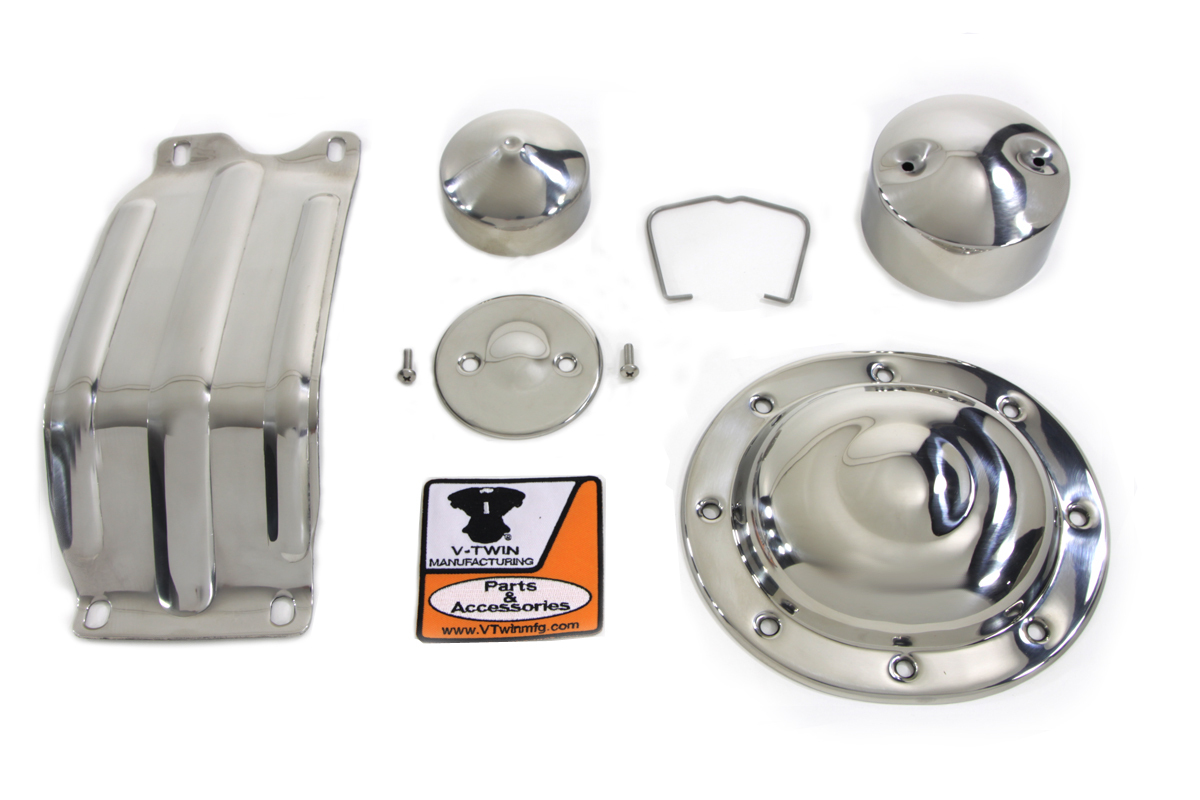 V-Twin 42-0391 - Stainless Steel Accessory Kit