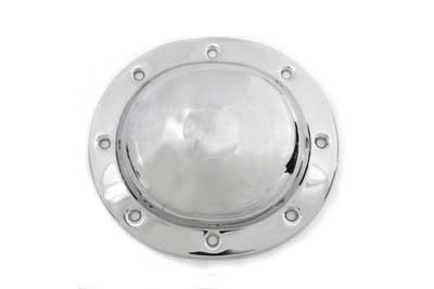 V-Twin 42-0627 - Dimple Derby Cover Chrome