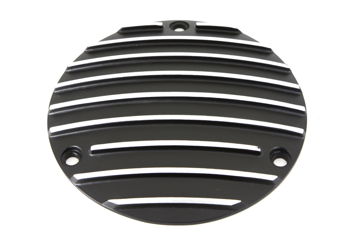 V-Twin 42-0632 - Derby Cover Black