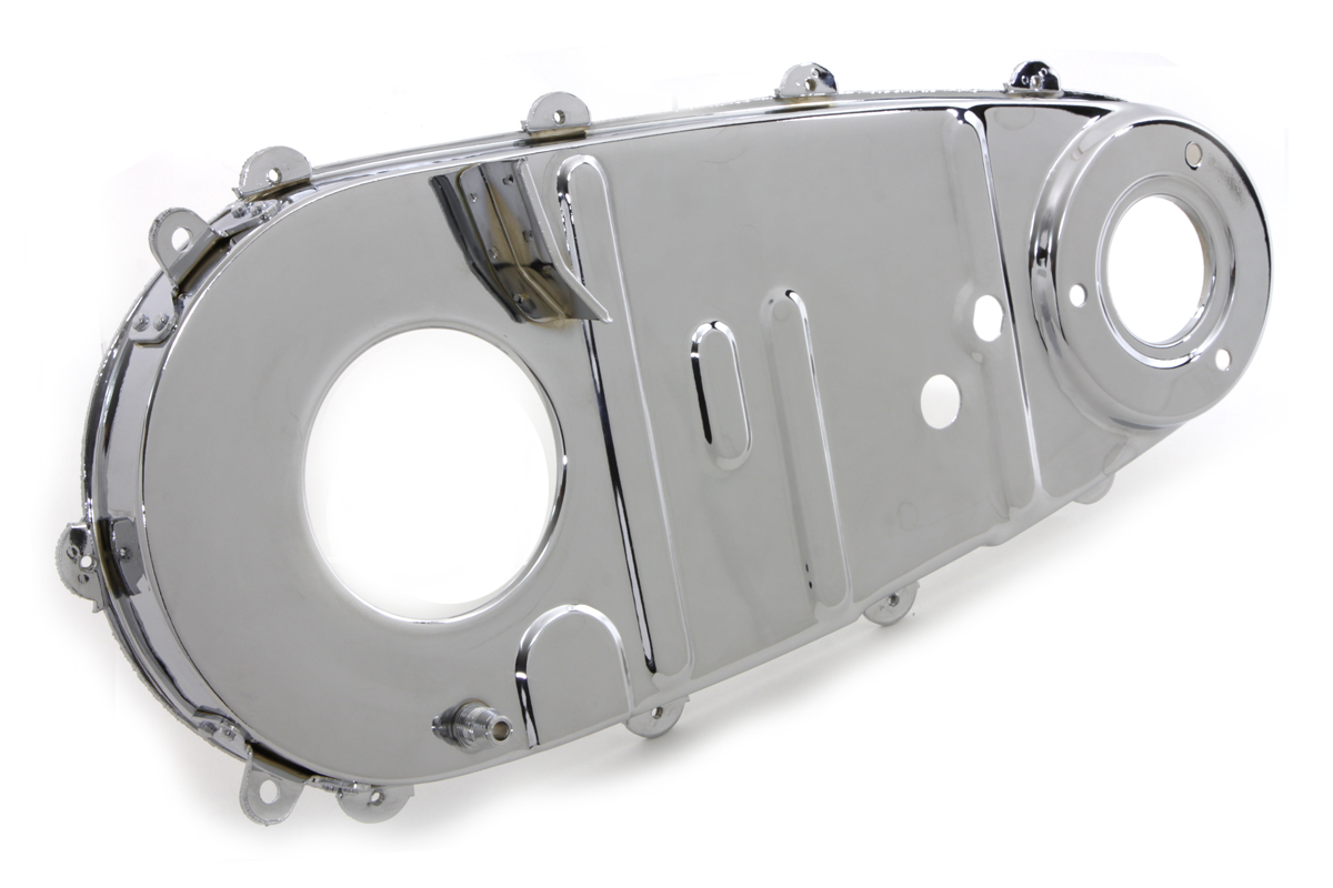 V-Twin 42-0643 - Replica Inner Primary Cover Chrome