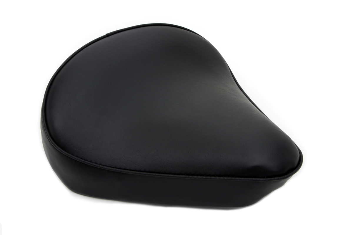 V-Twin 47-0056 - Black Smooth Solo Seat Large